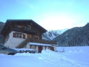 Location au ski Chalet 5 pièces 8 personnes (81) - Chalet Le Bois - Arêches - Extérieur hiver
