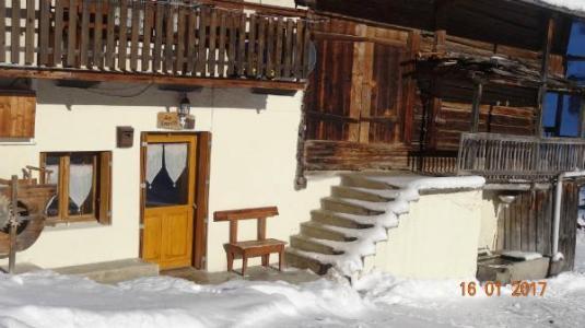 Location au ski Studio 2 personnes (50) - Chalet Les Envers - Arêches-Beaufort - Extérieur hiver