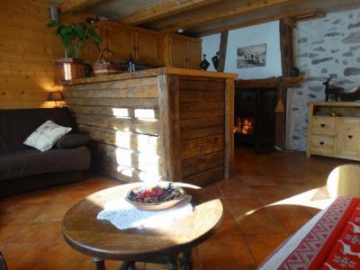 Location au ski Studio 2 personnes (50) - Chalet Les Envers - Arêches-Beaufort - Banquette
