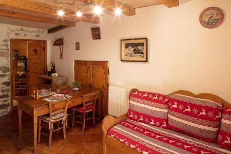 Location au ski Studio 2 personnes (50) - Chalet Les Envers - Arêches-Beaufort - Séjour