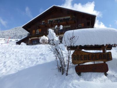 Location au ski Studio 2 personnes (42) - Chalet Roche Plane - Arêches-Beaufort - Extérieur hiver