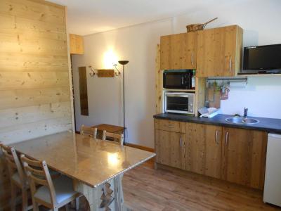 Location au ski Studio 2 personnes (42) - Chalet Roche Plane - Arêches-Beaufort - Table