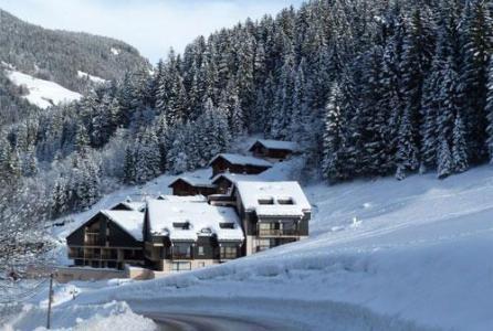 Location au ski Le Village De L'argentine - Arêches - Extérieur hiver