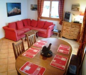 Location au ski Appartement 4 pièces 6 personnes (195) - Les Chalets De La Cascade - Arêches-Beaufort - Coin repas