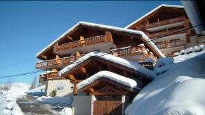 Location au ski Appartement 4 pièces 6 personnes (195) - Les Chalets De La Cascade - Arêches-Beaufort - Extérieur hiver