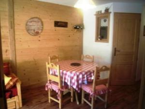 Location au ski Appartement 2 pièces coin montagne 4 personnes (3) - Residence Alpina - Arêches-Beaufort - Coin repas