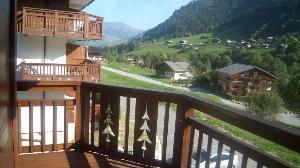 Location au ski Appartement 3 pièces 6 personnes (8) - Residence Alpina - Arêches-Beaufort - Balcon