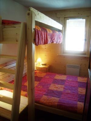 Location au ski Appartement 3 pièces 6 personnes (8) - Residence Alpina - Arêches-Beaufort - Lit mezzanine simple