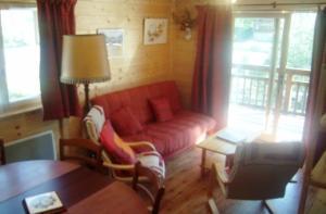 Location au ski Appartement 3 pièces 6 personnes (8) - Residence Alpina - Arêches-Beaufort - Séjour