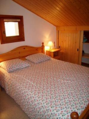 Location au ski Appartement 3 pièces 5 personnes (212) - Residence L'oree De La Combe - Arêches-Beaufort - Chambre mansardée