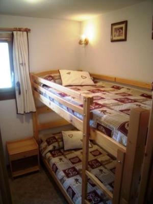 Location au ski Appartement 3 pièces 4 personnes (04) - Residence La Merande - Arêches - Lits superposés
