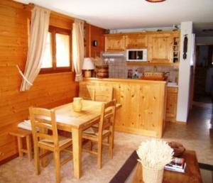 Location au ski Appartement 4 pièces 6 personnes (05) - Residence La Merande - Arêches-Beaufort - Kitchenette
