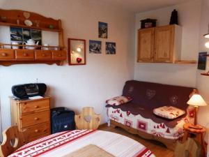 Location au ski Studio cabine 4 personnes (63) - Residence Le Bellecote - Arêches - Séjour