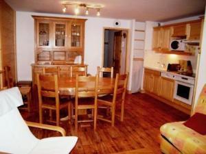 Location au ski Appartement 4 pièces 8 personnes (1) - Residence Le Montana - Arêches-Beaufort - Coin repas