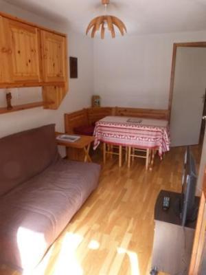 Location au ski Appartement 2 pièces coin montagne 4 personnes - Residence Le Val Blanc - Arêches - Coin repas