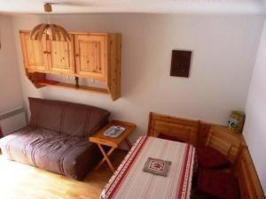 Location au ski Appartement 2 pièces coin montagne 4 personnes - Residence Le Val Blanc - Arêches - Séjour