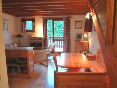 Location au ski Residence Le Val Blanc - Arêches - Séjour