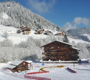 Location au ski Appartement 3 pièces 6 personnes (01) - Residence Les Grangettes - Arêches - Extérieur hiver