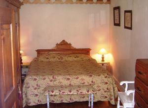 Location au ski Appartement 4 pièces 8 personnes - Residence Mont Blanc - Arêches-Beaufort - Lit double