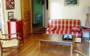 Location au ski Appartement 4 pièces 8 personnes - Residence Mont Blanc - Arêches-Beaufort - Séjour