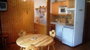 Location au ski Appartement 3 pièces 4 personnes (64) - Residence Oree Des Pres - Arêches-Beaufort - Coin repas