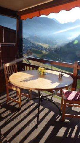 Location au ski Appartement 2 pièces 4 personnes (98) - Residence Oree Du Village - Arêches-Beaufort - Balcon