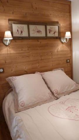 Location au ski Appartement 2 pièces 4 personnes (98) - Residence Oree Du Village - Arêches-Beaufort - Chambre