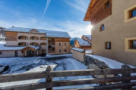 Location au ski Résidence les Granges d'Arvieux - Arvieux en Queyras - Extérieur hiver