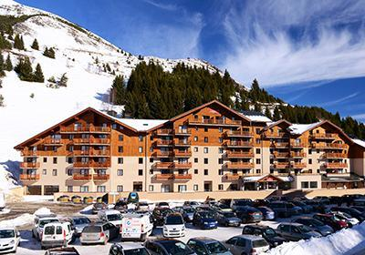 Ski en mars Residence Les Balcons D'aurea