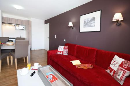 Rent in ski resort Résidence les Balcons d'Auréa - Auris en Oisans - Bed-settee