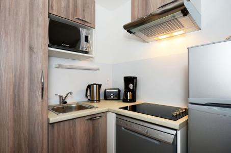 Rent in ski resort Résidence les Balcons d'Auréa - Auris en Oisans - Kitchenette