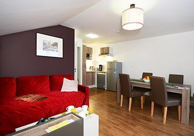 Location 6 personnes Appartement 3 pièces 6 personnes (3P6) - Residence Les Balcons D'aurea