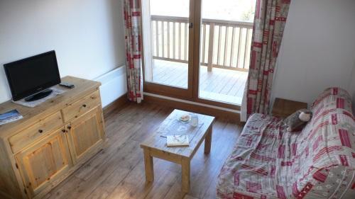 Location au ski Appartement 3 pièces 6 personnes - Residence Chalet Le Clos D'aussois - Aussois - Canapé