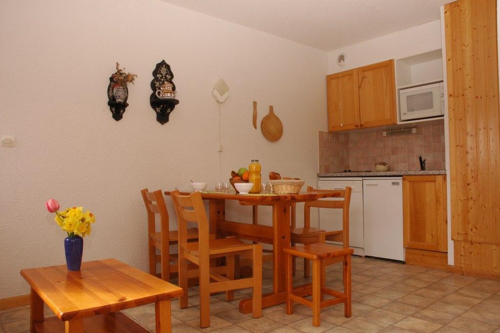 Location au ski Appartement 2 pièces 4 personnes (220) - Residence La Combe - Aussois - Kitchenette