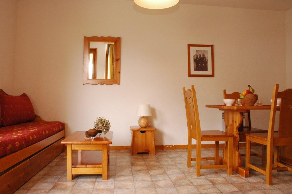 Location au ski Appartement 2 pièces 4 personnes (312) - Residence La Combe Ii - Aussois - Séjour