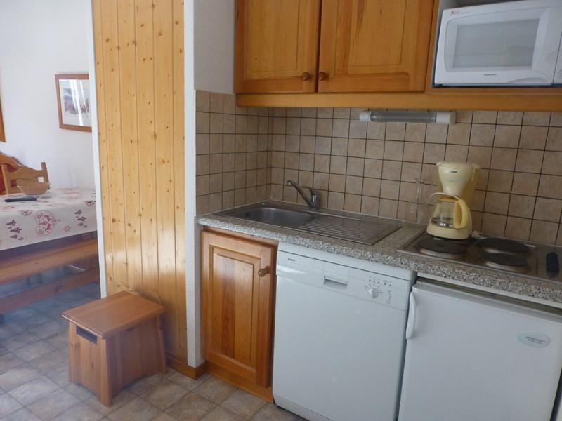 Location au ski Appartement 2 pièces 4 personnes (318) - Residence La Combe Ii - Aussois - Canapé