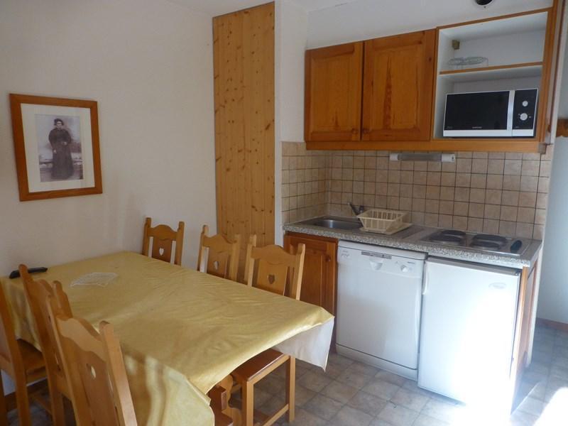 Location au ski Appartement 2 pièces coin montagne 5 personnes - Residence La Combe Ii - Aussois - Lit simple