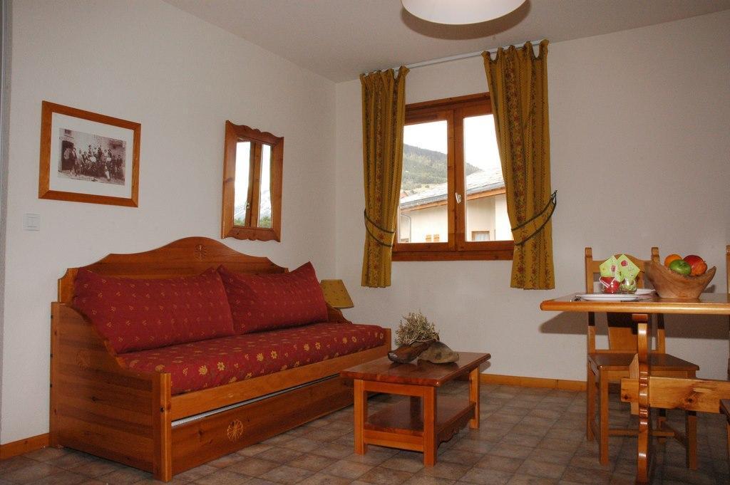 Location au ski Appartement 3 pièces 6 personnes (330) - Residence La Combe Ii - Aussois - Canapé