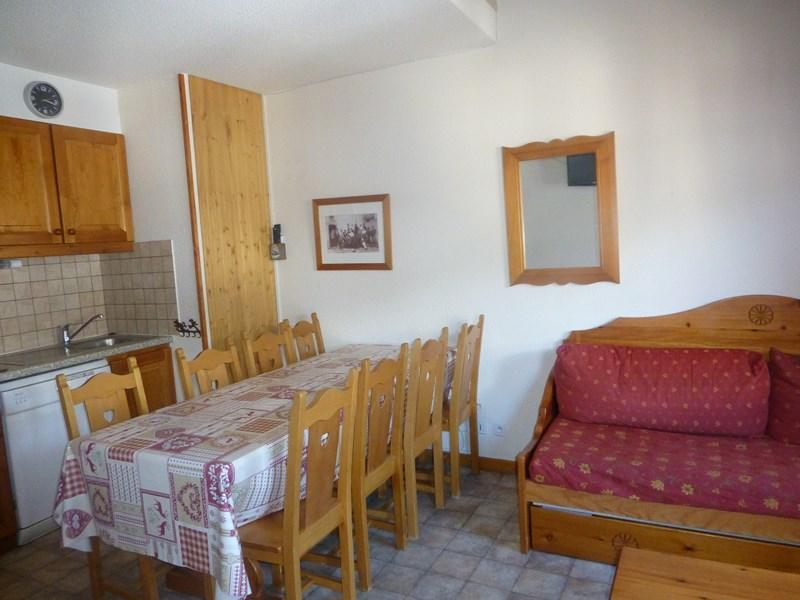 Location au ski Appartement duplex 3 pièces 8 personnes (337) - Residence La Combe Ii - Aussois - Table