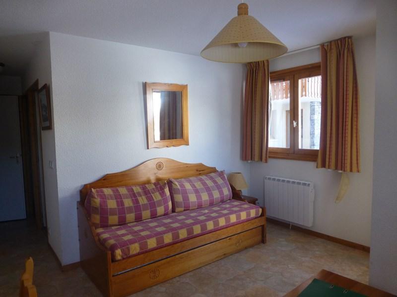 Location au ski Appartement 3 pièces 6 personnes (407) - Residence La Combe Iii - Aussois - Canapé