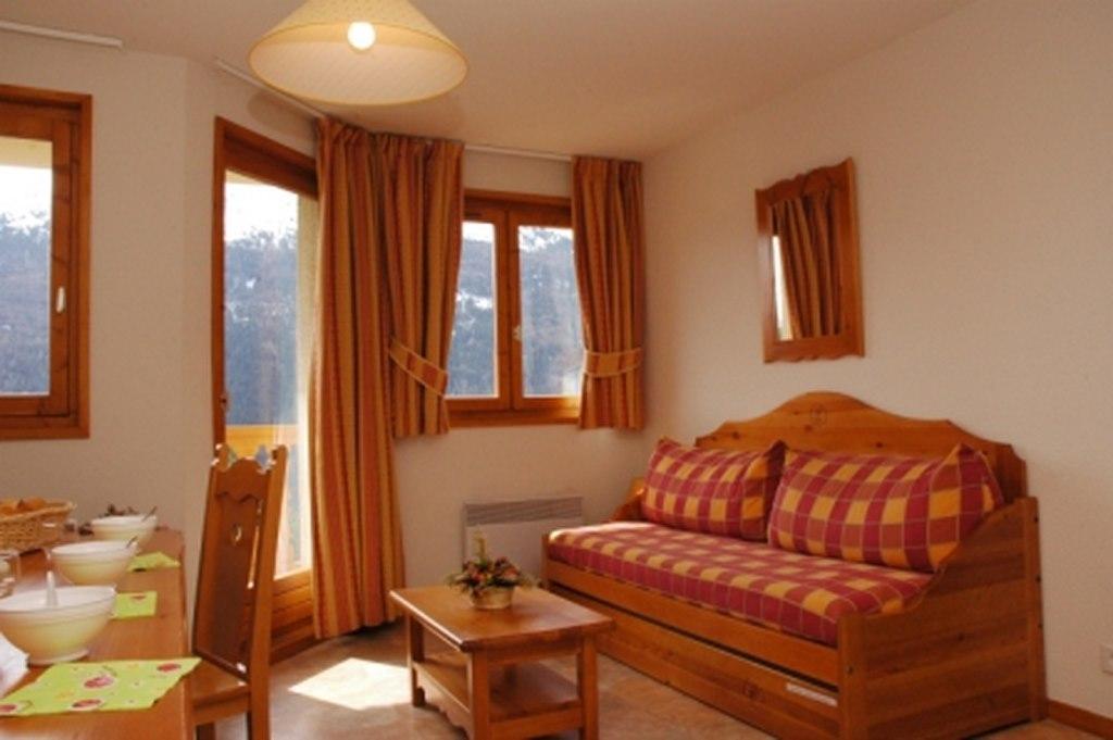 Location au ski Appartement 3 pièces 6 personnes (434) - Residence La Combe Iii - Aussois - Séjour