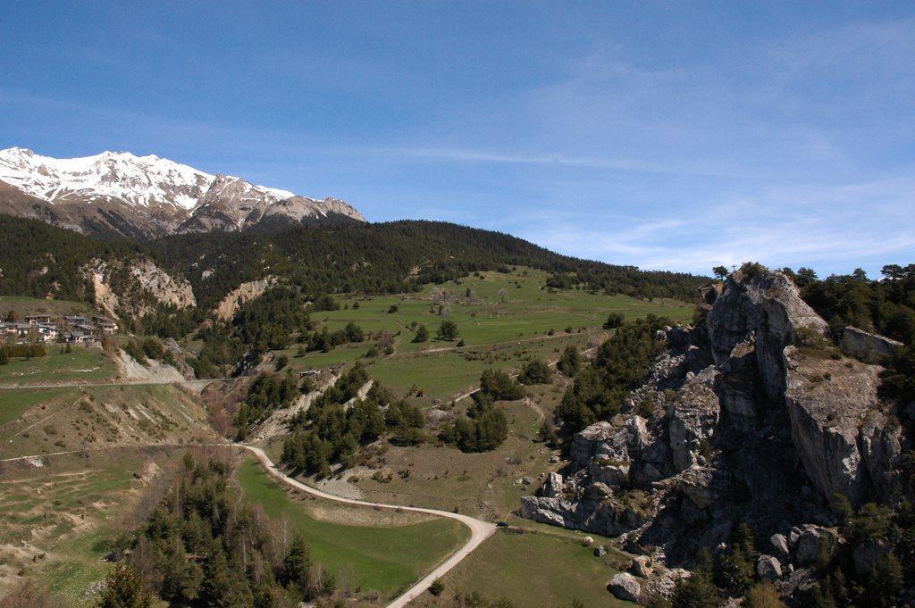 Location au ski Appartement 3 pièces 6 personnes (433) - Residence La Combe Iii - Aussois - Extérieur hiver