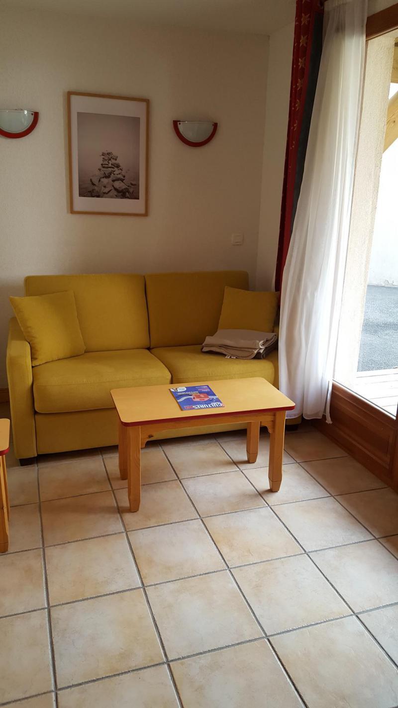 Skiverleih 2-Zimmer-Appartment für 4 Personen (F1.114) - La Résidence les Flocons d'Argent - Aussois - Tisch