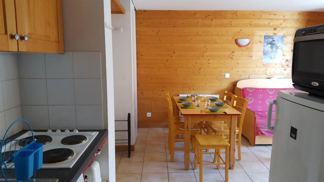 Rent in ski resort 3 room apartment cabin 6 people (E3.86) - La Résidence les Flocons d'Argent - Aussois - Living room