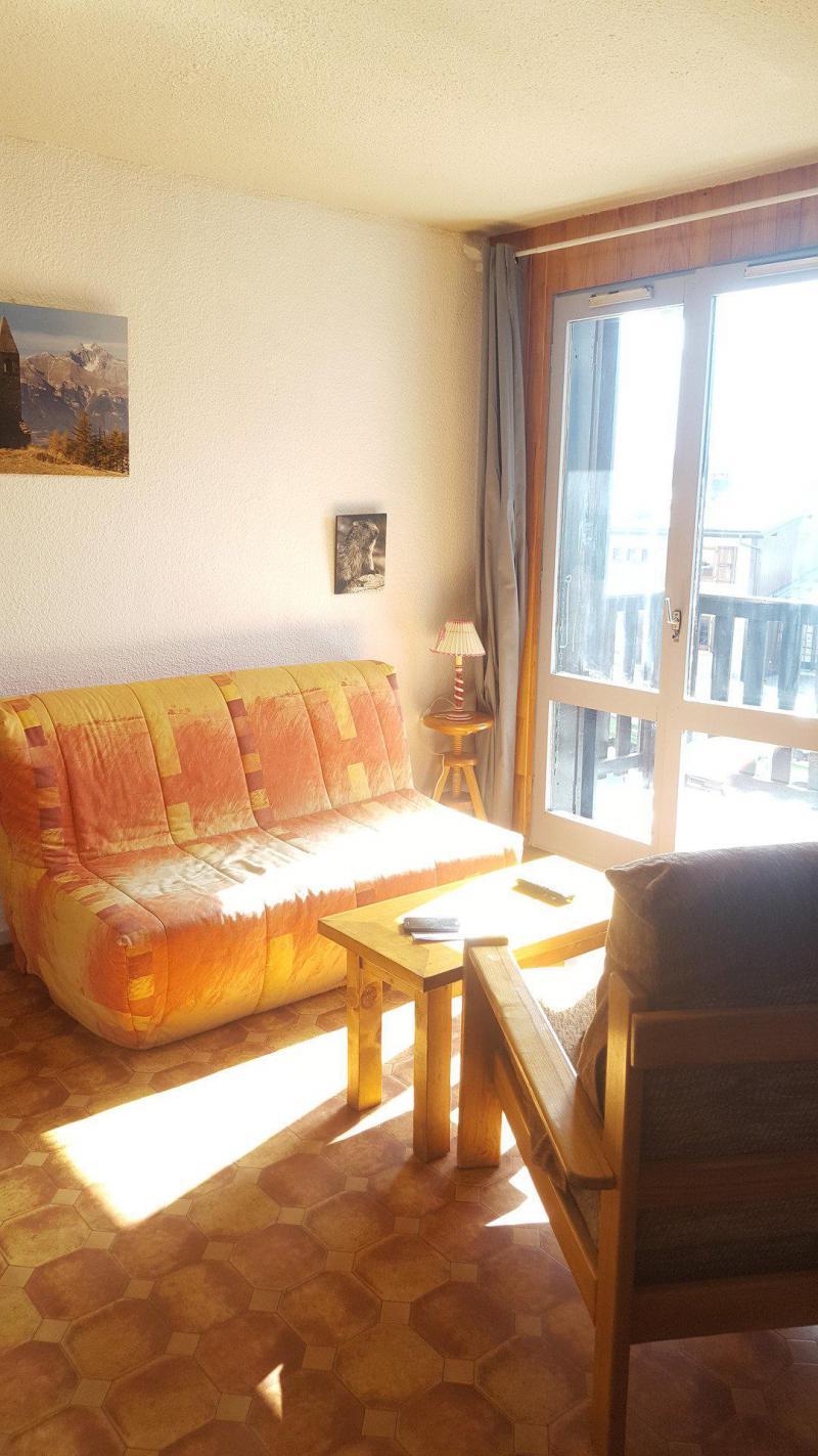 Skiverleih 2-Zimmer-Appartment für 4 Personen (621) - La Résidence les Sétives - Aussois - Sofa