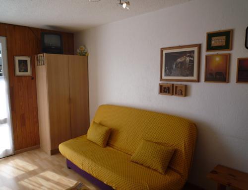 Skiverleih Studio für 2 Personen (17) - La Résidence les Sétives - Aussois - Wohnzimmer