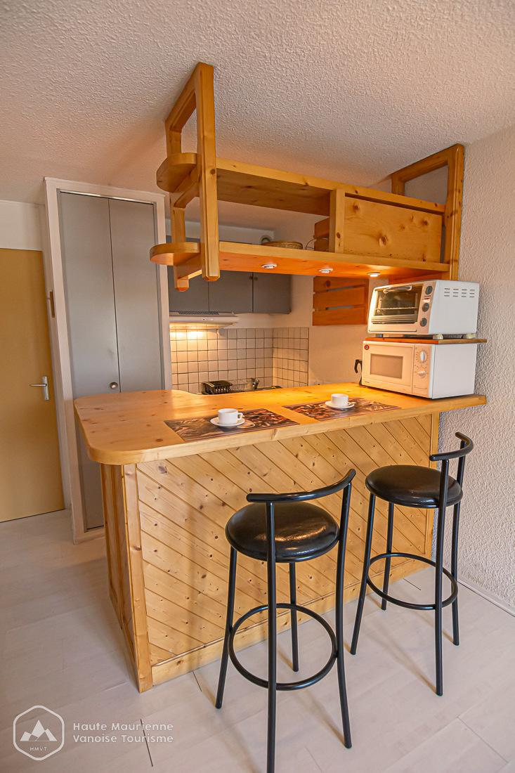 Skiverleih Studio für 2 Personen (65) - La Résidence les Sétives - Aussois - Einzelbett