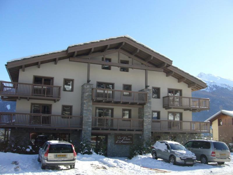 Rent in ski resort Residence Chalet Le Clos D'aussois - Aussois - Winter outside