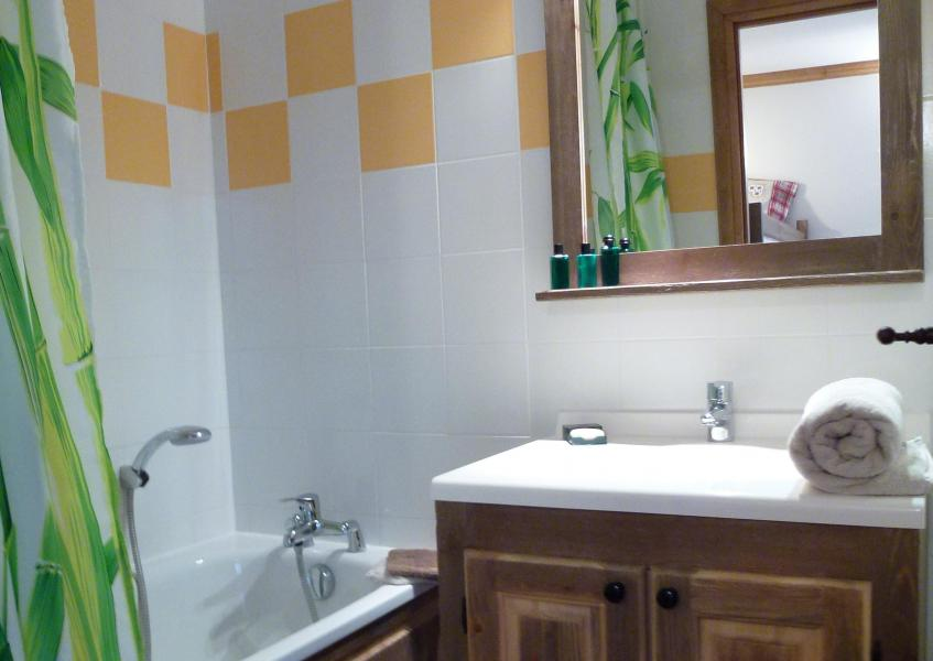 Skiverleih Résidence Chalet le Clos d'Aussois - Aussois - Badezimmer