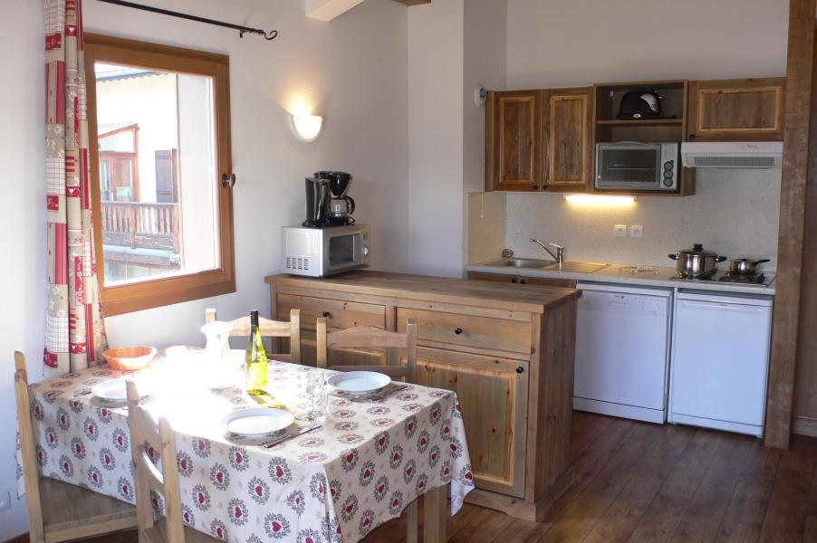 Skiverleih Résidence Chalet le Clos d'Aussois - Aussois - Küche